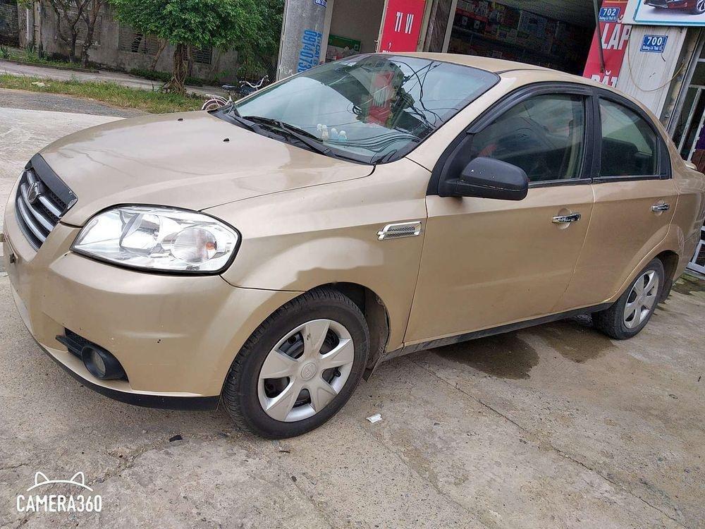 Bán Daewoo Gentra năm 2008, màu vàng còn mới (1)