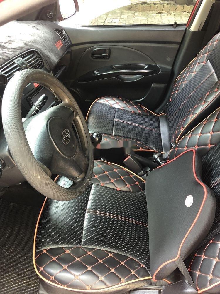 Cần bán lại xe Kia Morning 2012, màu đỏ còn mới, giá tốt (4)