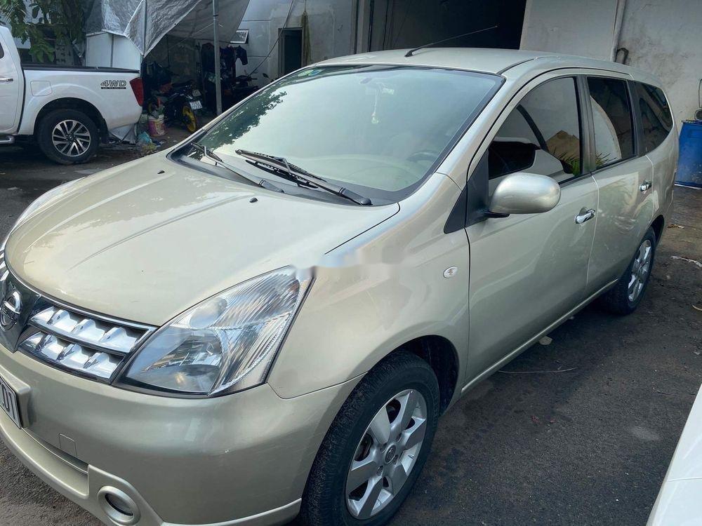 Bán Nissan Livina 2011, màu vàng, xe nhập số tự động, 325tr (4)