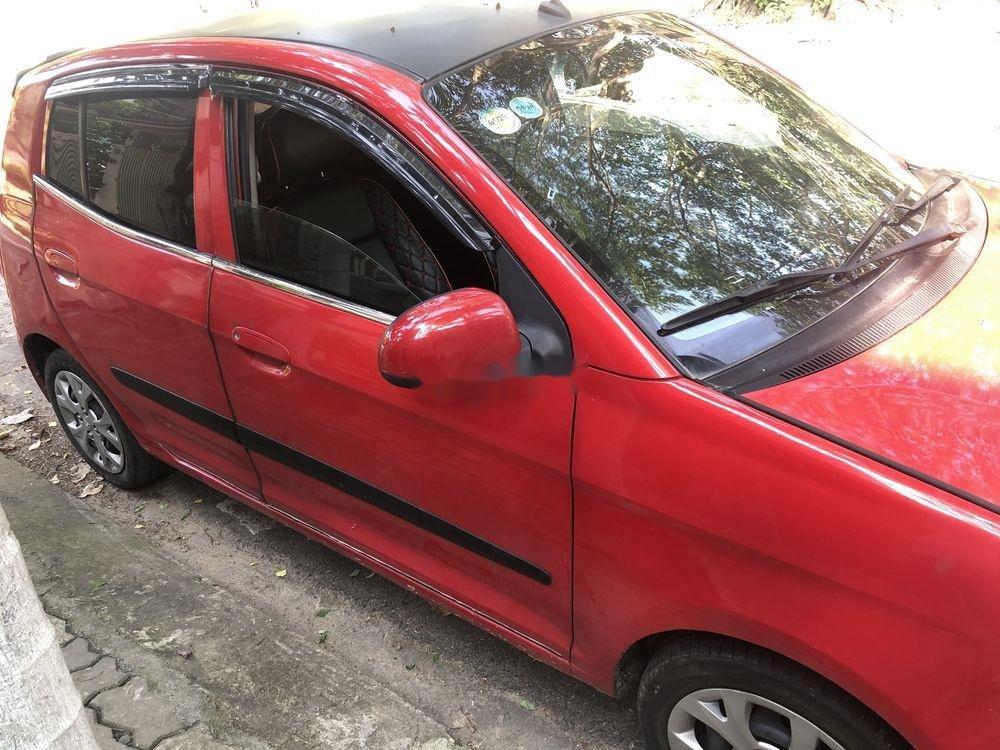 Cần bán lại xe Kia Morning 2012, màu đỏ còn mới, giá tốt (2)