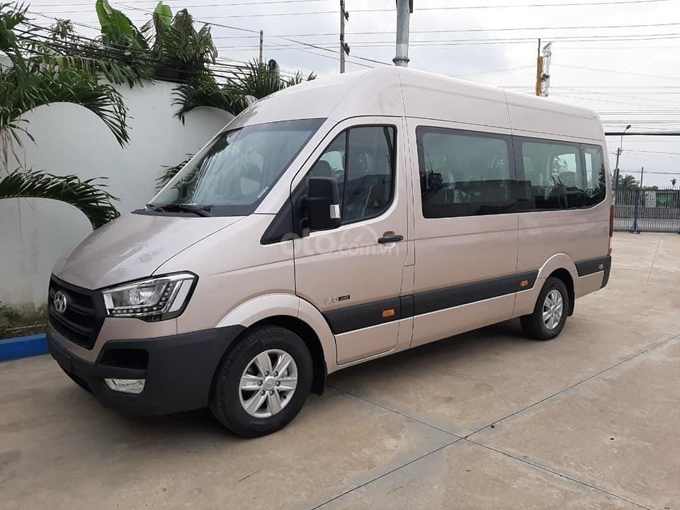 Bán xe Hyundai Solati năm sản xuất 2019, màu bạc, giá tốt (1)