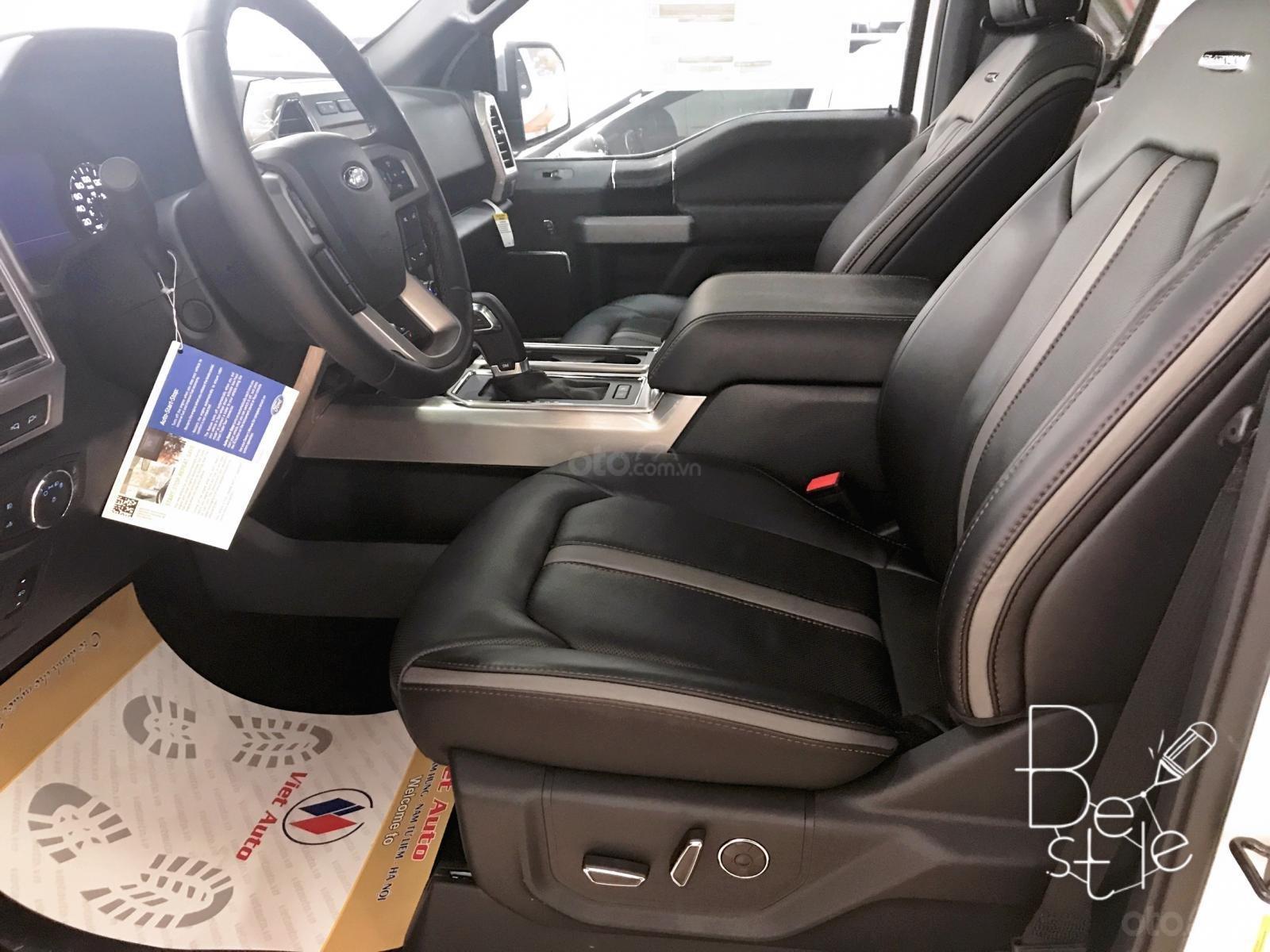 Siêu bán tải Ford F150 Limited 3.5, nhập Mỹ sx 2019, màu trắng, mới 100%, xe giao ngay (7)