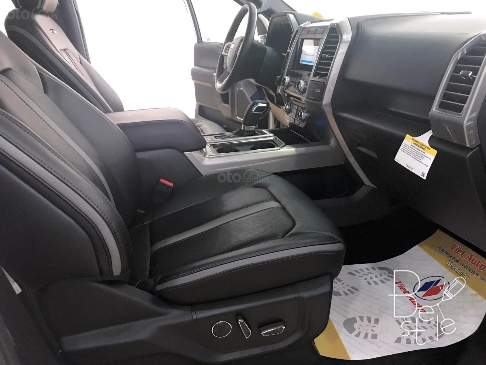 Siêu bán tải Ford F150 Limited 3.5, nhập Mỹ sx 2019, màu trắng, mới 100%, xe giao ngay (10)