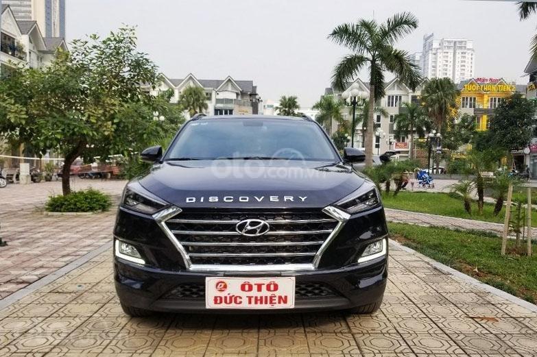 Bán chiếc xe Hyundai Tucson mới mua đầu 2019, màu đen, giá rẻ   (1)