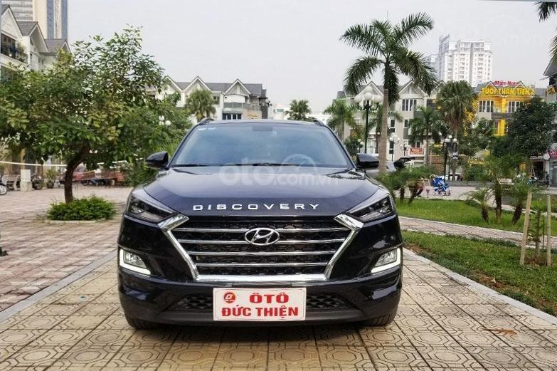 Bán chiếc xe Hyundai Tucson mới mua đầu 2019, màu đen, giá rẻ   (5)