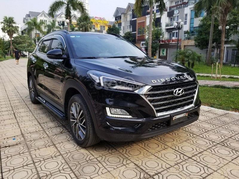 Bán chiếc xe Hyundai Tucson mới mua đầu 2019, màu đen, giá rẻ   (6)