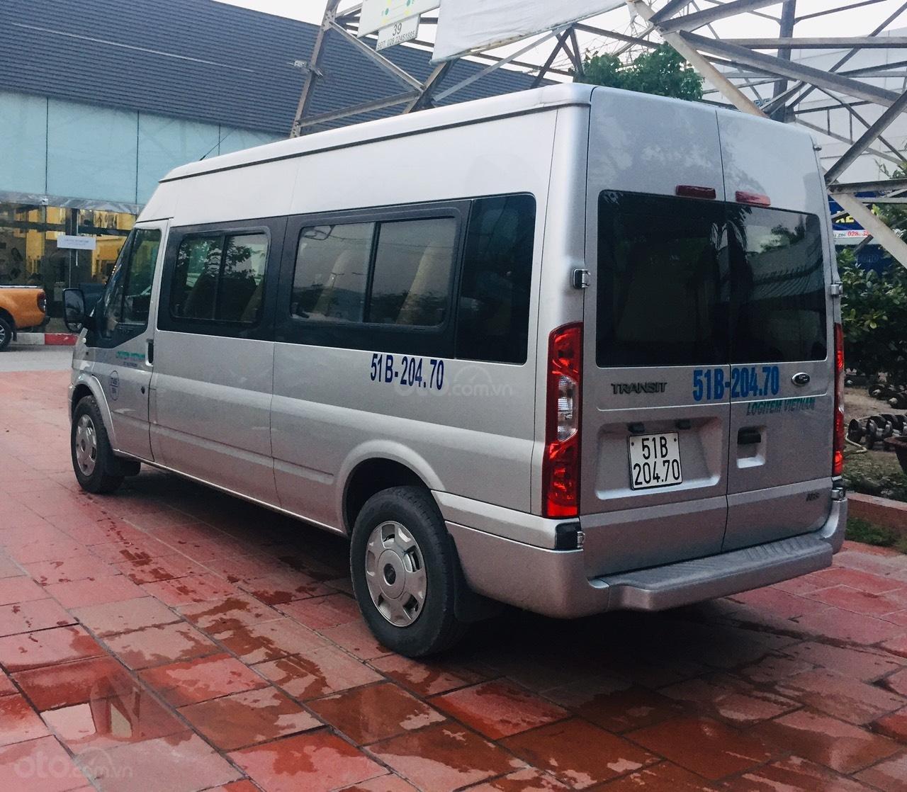 Bán Ford Transit sản xuất 2016, màu bạc,xe bán tại hãng có bảo hành (3)