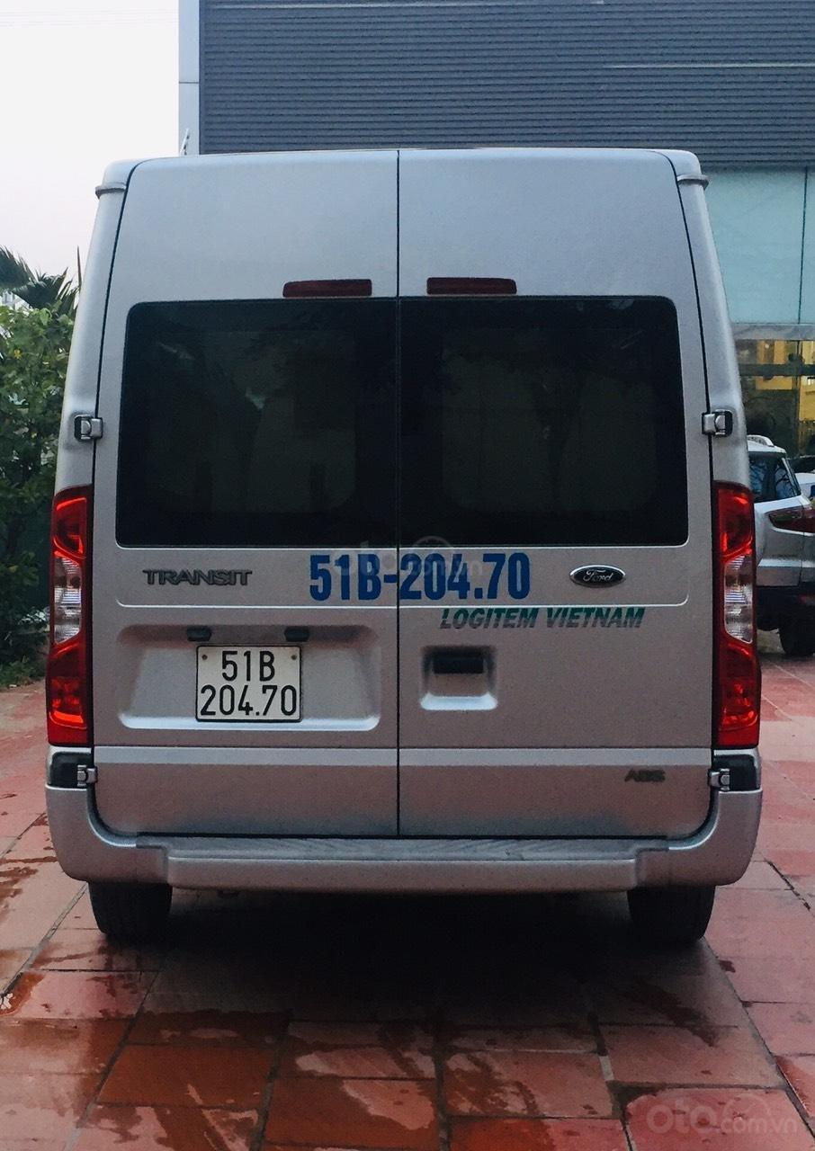 Bán Ford Transit sản xuất 2016, màu bạc,xe bán tại hãng có bảo hành (5)