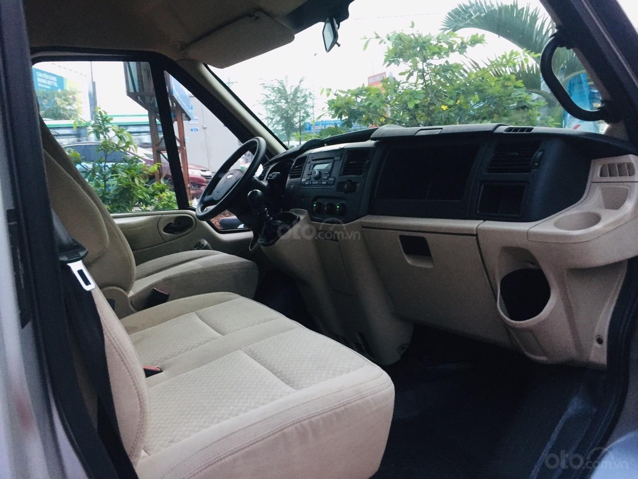 Bán Ford Transit sản xuất 2016, màu bạc,xe bán tại hãng có bảo hành (9)