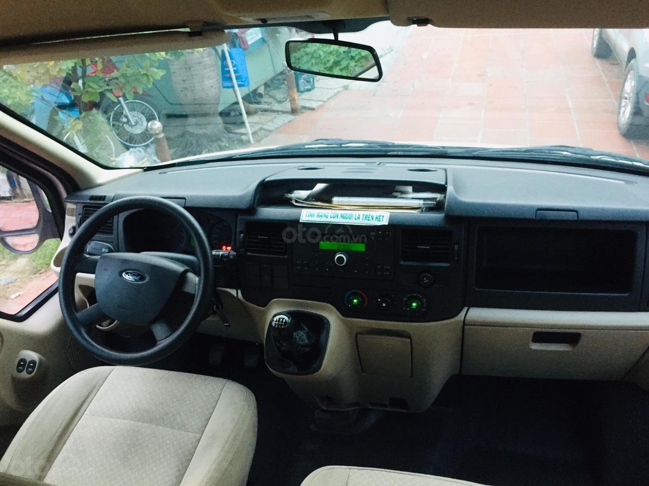 Bán Ford Transit sản xuất 2016, màu bạc,xe bán tại hãng có bảo hành (7)