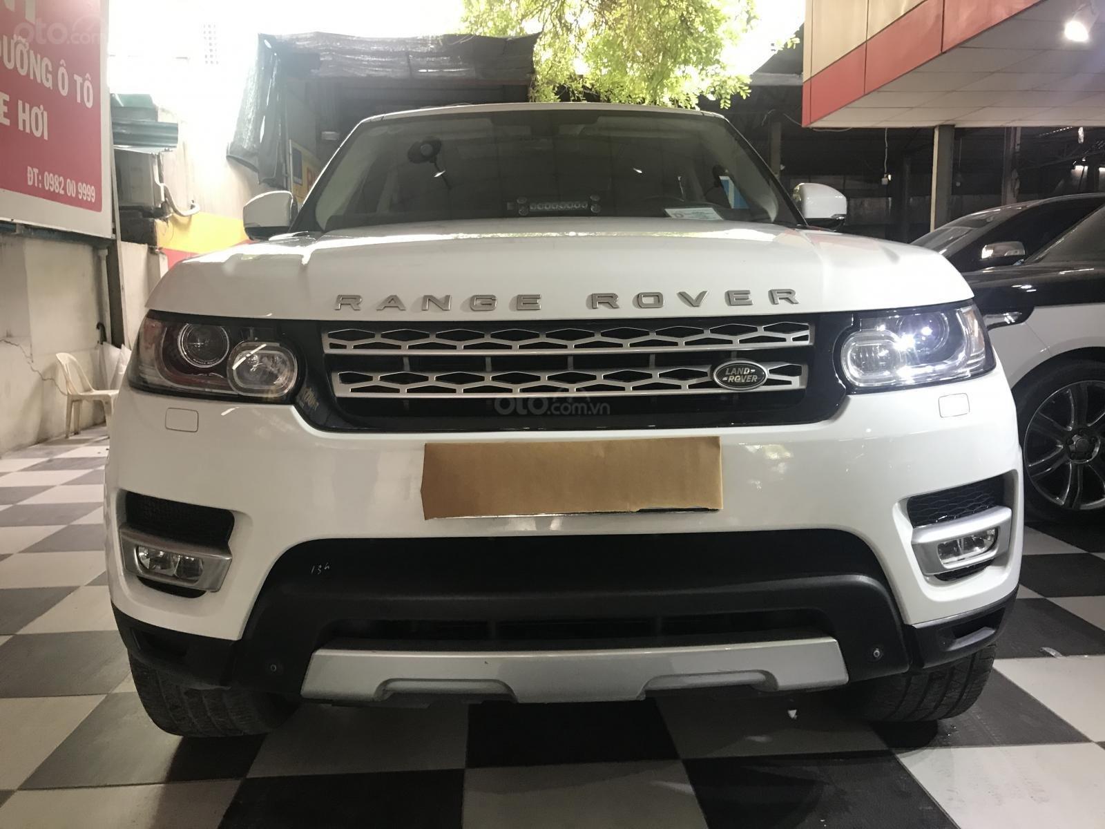 Cần bán LandRover Sport Hse 2015, màu trắng, nhập khẩu (1)