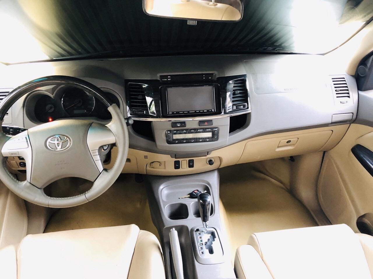 Bán Fortuner 2.7V số tự động sx 2013, xe đẹp đi 59.000km, Full option bao kiểm tra tại hãng (5)