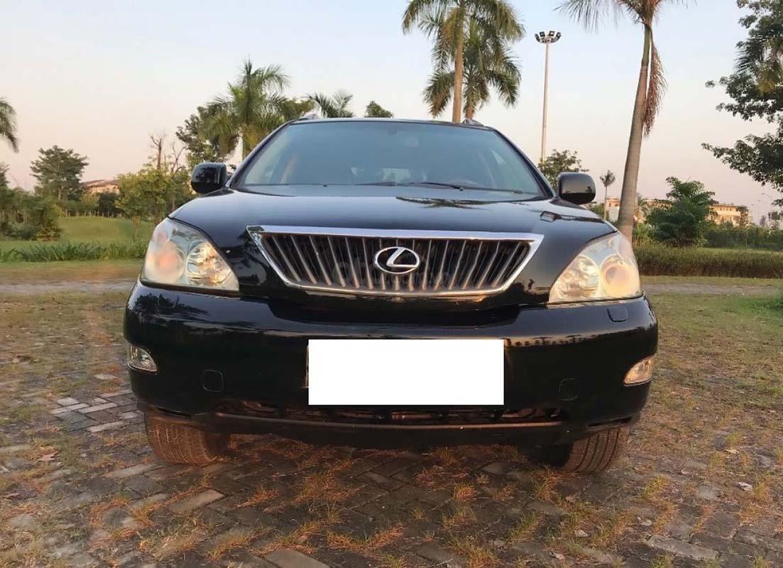 Xe Lexus RX năm sản xuất 2008, màu đen, nhập khẩu nguyên chiếc chính hãng (1)