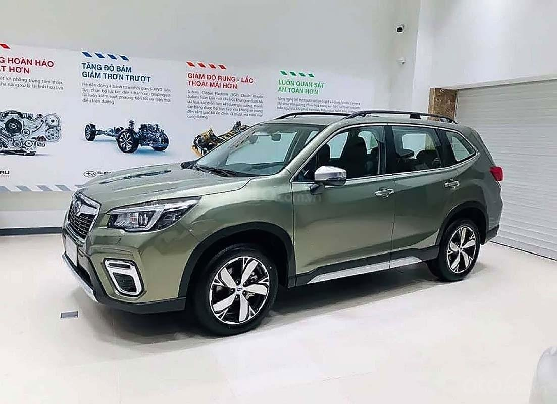 Cần bán Subaru Forester đời 2019, màu xanh, nhập khẩu (1)