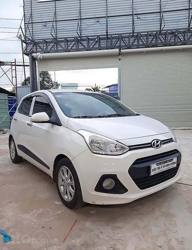 Cần bán gấp Hyundai Grand i10 đời 2016, màu trắng, xe nhập chính hãng (1)