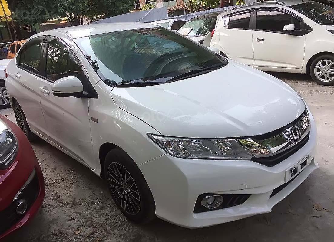 Bán Honda City đời 2016, màu trắng xe nguyên bản (1)