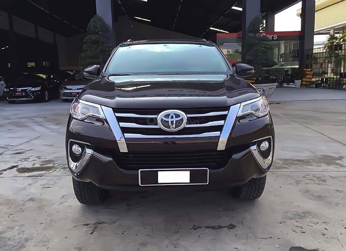 Cần bán Toyota Fortuner đời 2018, màu đen, nhập khẩu (1)