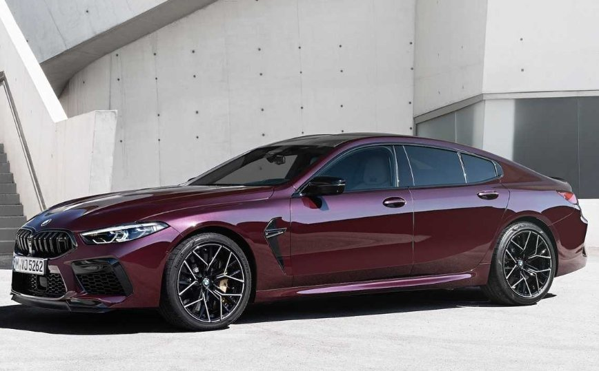 BMW M8 Gran Coupe.