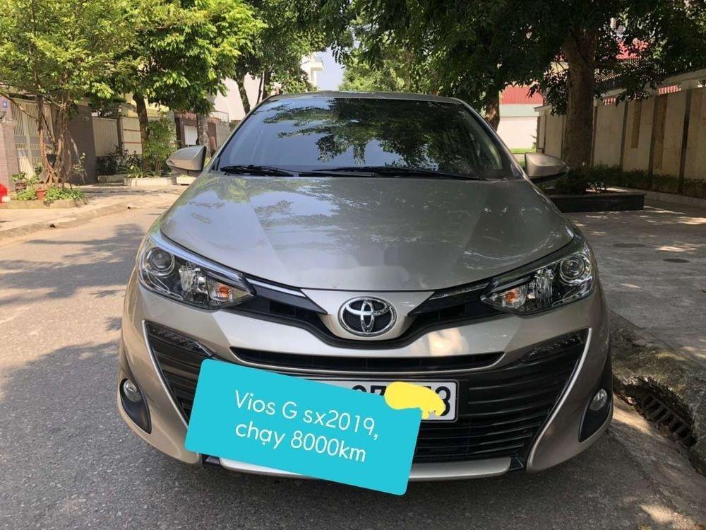 Cần bán Toyota Vios năm sản xuất 2019, màu vàng còn mới, 575 triệu (1)