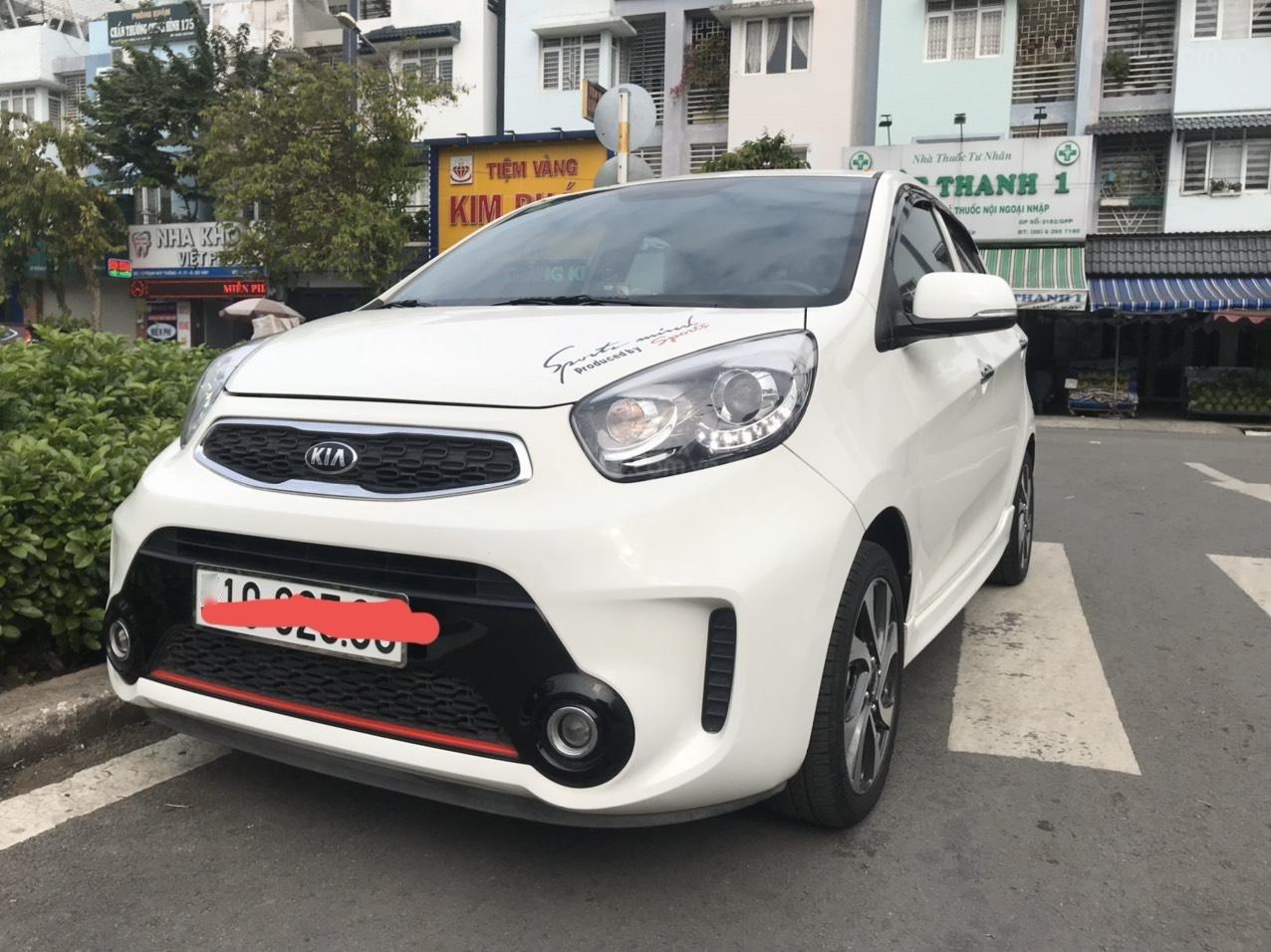 Bán ô tô Kia Morning Full options sản xuất 2018, màu trắng - Liên hệ Mr.Dương 0938811266 (1)