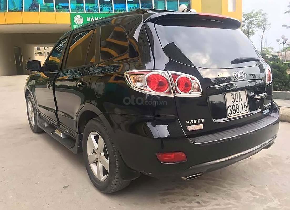 Cần bán gấp Hyundai Santa Fe 2.7L 4WD đời 2006, màu đen, nhập khẩu nguyên chiếc (2)