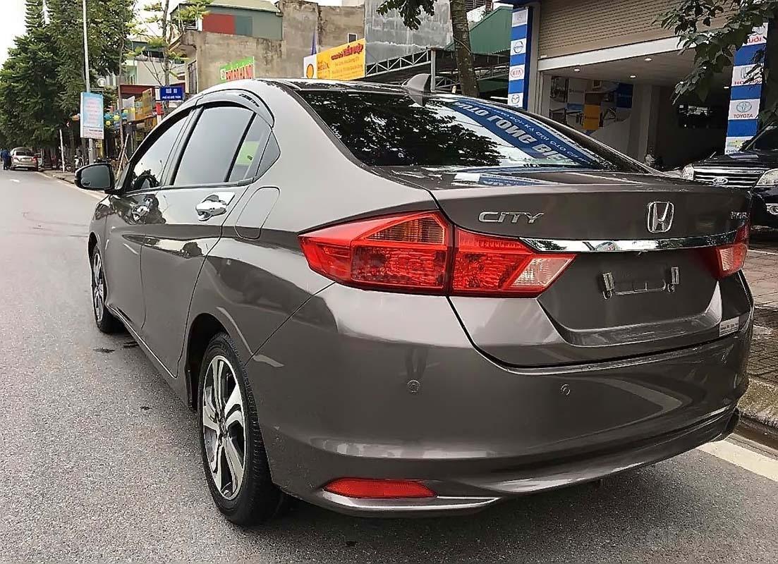 Cần bán Honda City đời 2016, màu xám, giá tốt (2)