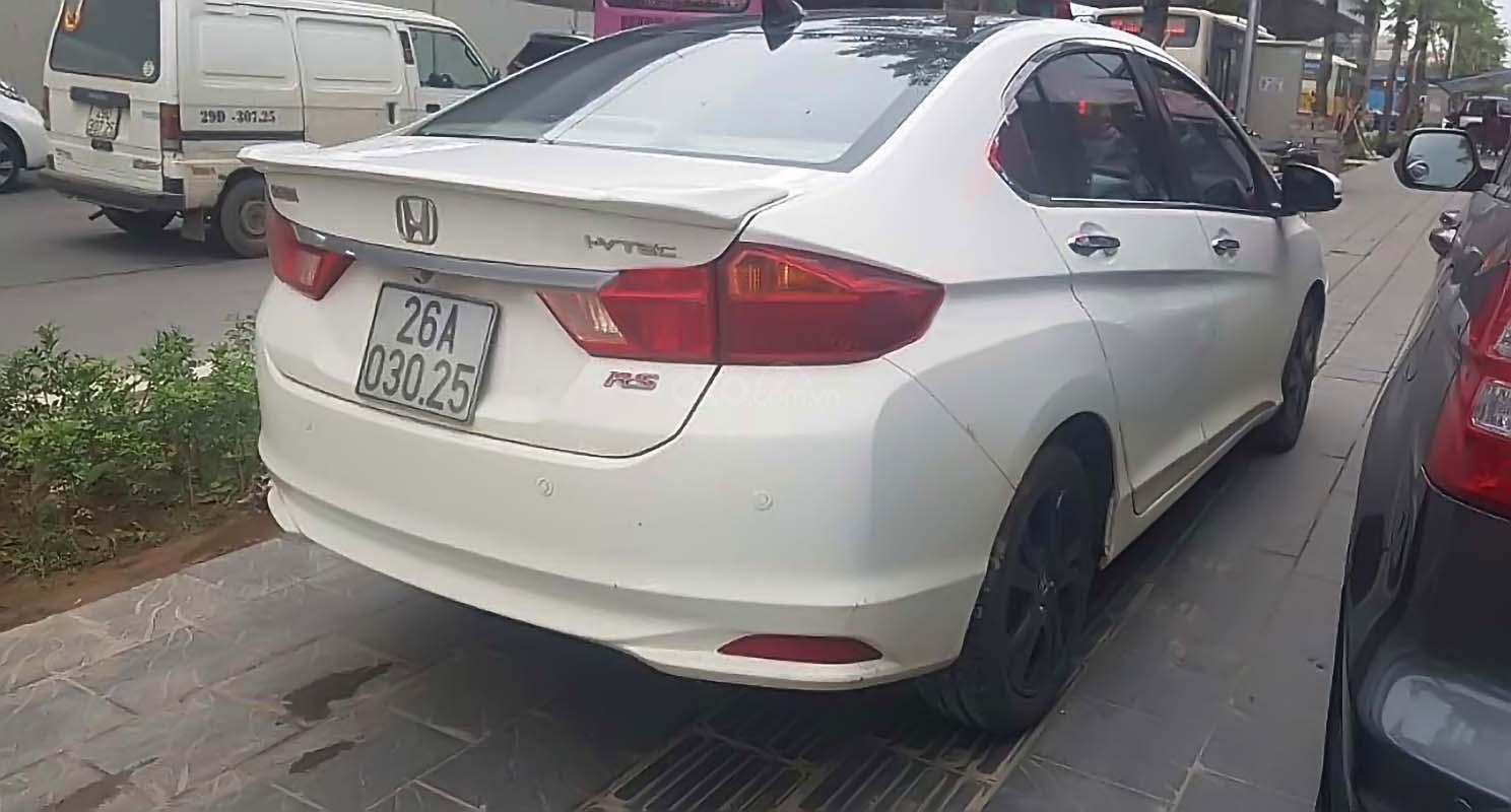 Bán Honda City CVT năm 2014, màu trắng giá cạnh tranh (2)