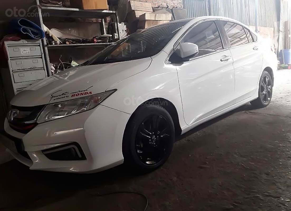 Bán Honda City CVT năm 2014, màu trắng giá cạnh tranh (1)