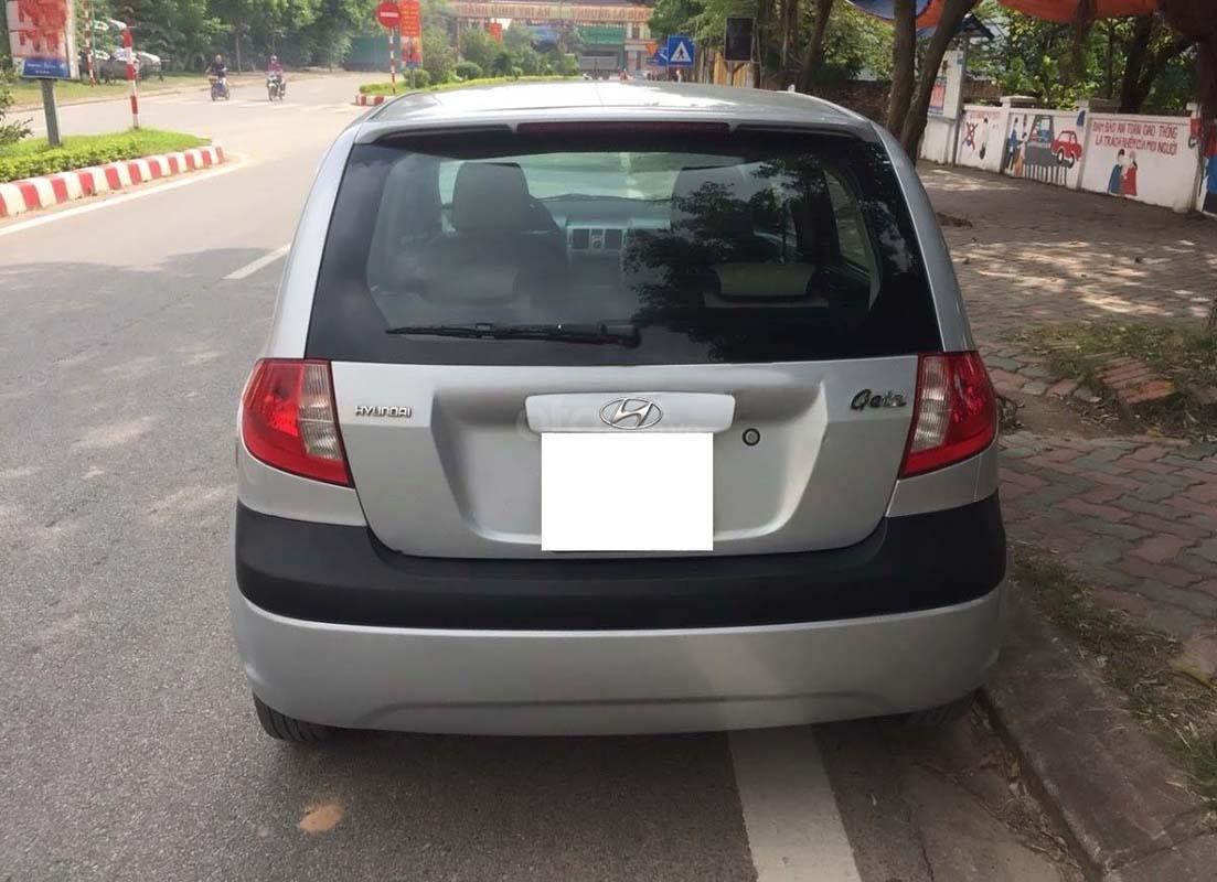 Cần bán lại xe Hyundai Getz năm 2010, màu bạc, nhập khẩu chính chủ  (4)