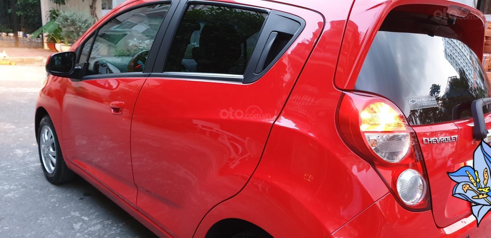 Bán Chevrolet Spark LTZ , số tự động đời T2/2014 sx 2013 màu đỏ đẹp mới 90% (7)