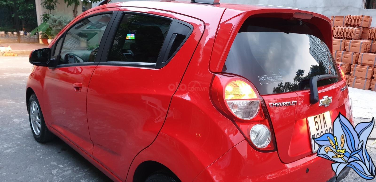 Bán Chevrolet Spark LTZ , số tự động đời T2/2014 sx 2013 màu đỏ đẹp mới 90% (8)