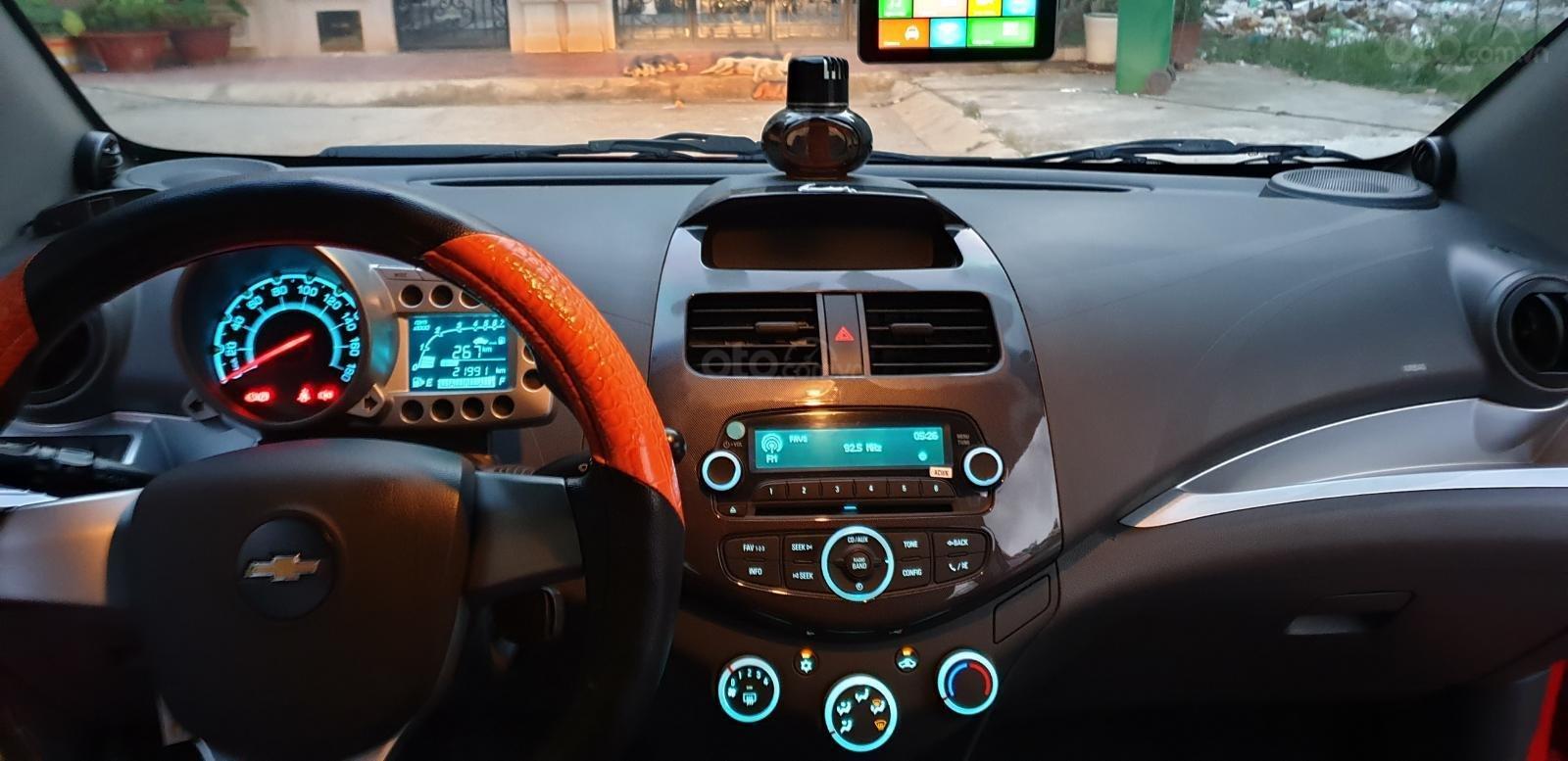 Bán Chevrolet Spark LTZ , số tự động đời T2/2014 sx 2013 màu đỏ đẹp mới 90% (11)