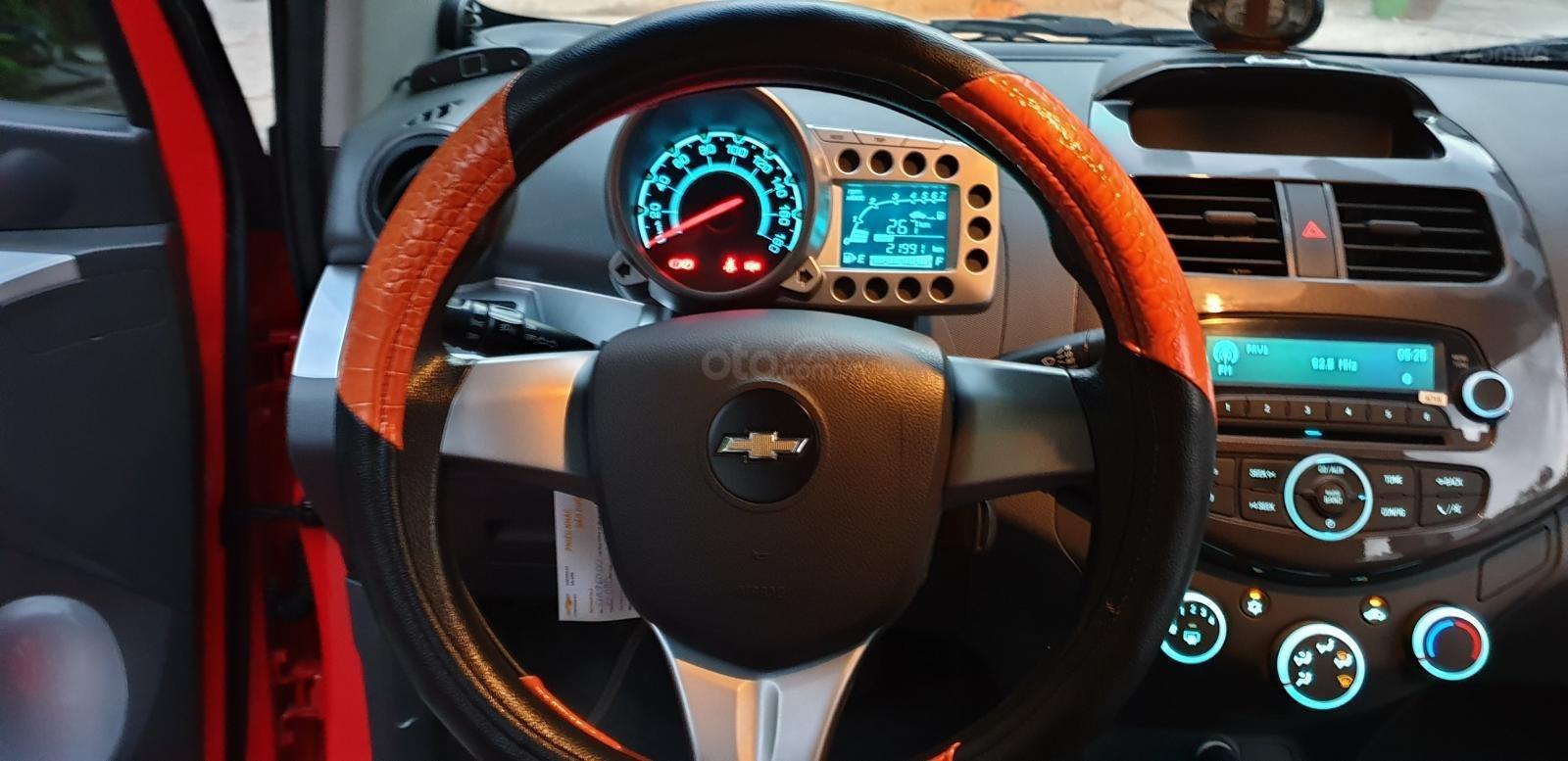 Bán Chevrolet Spark LTZ , số tự động đời T2/2014 sx 2013 màu đỏ đẹp mới 90% (12)