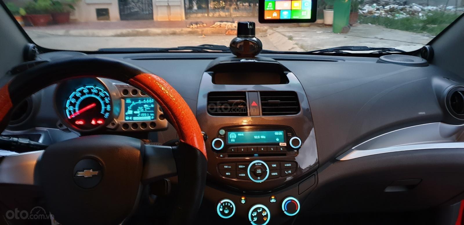 Bán Chevrolet Spark LTZ , số tự động đời T2/2014 sx 2013 màu đỏ đẹp mới 90% (13)