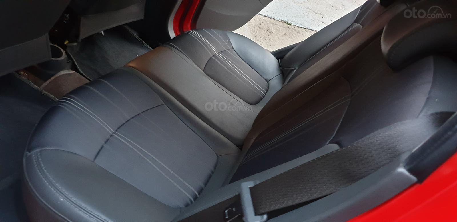 Bán Chevrolet Spark LTZ , số tự động đời T2/2014 sx 2013 màu đỏ đẹp mới 90% (17)