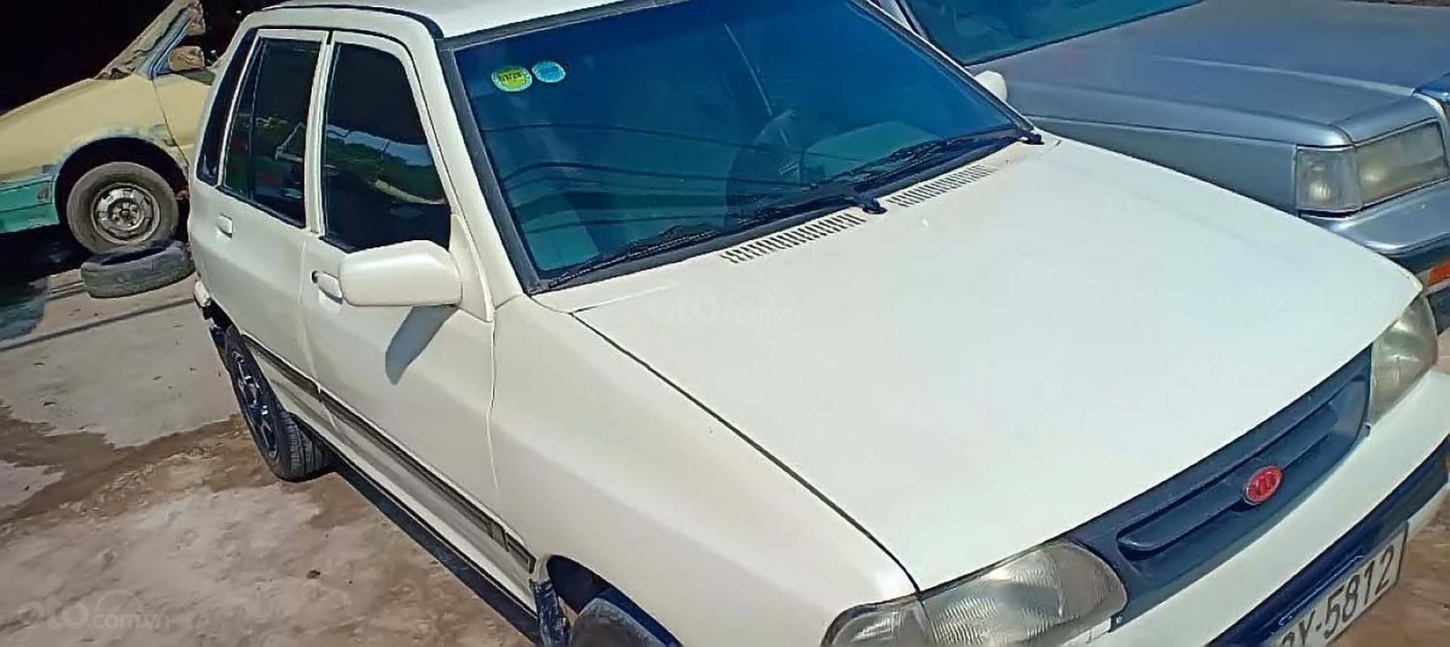 Bán xe Kia CD5 sản xuất 2001, màu trắng, giá tốt (1)