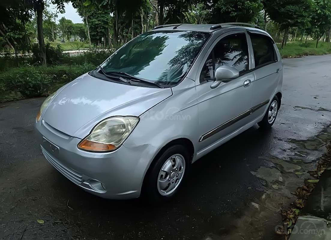 Cần bán Chevrolet Spark năm sản xuất 2009, màu bạc, 88tr (1)