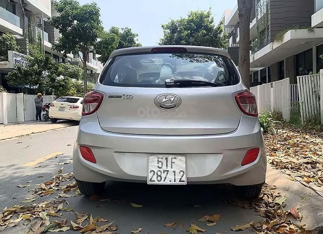 Bán Hyundai Grand i10 1.0 MT Base 2015, màu bạc, nhập khẩu, số sàn, giá tốt (2)
