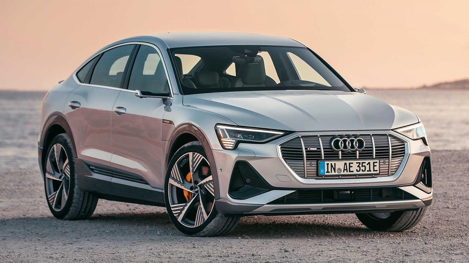 Xe điện Audi E-Tron Sportback 2020 ra mắt