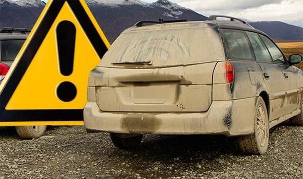 Xe quá bẩn cũng có thể khiến bạn bị phạt đến 1 triệu đồng,