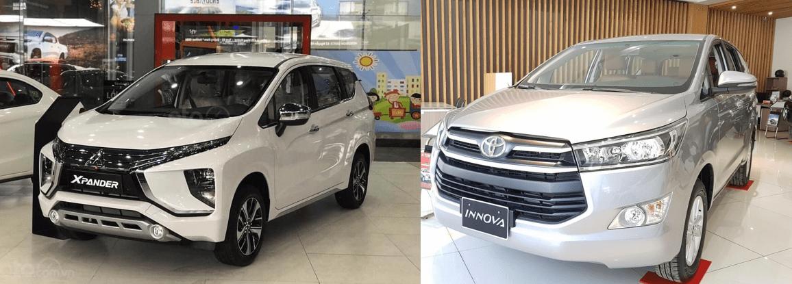 So sánh xe Mitsubishi Xpander 2020 và Toyota Innova 2020: Xe nào bền bỉ, mạnh mẽ? A1