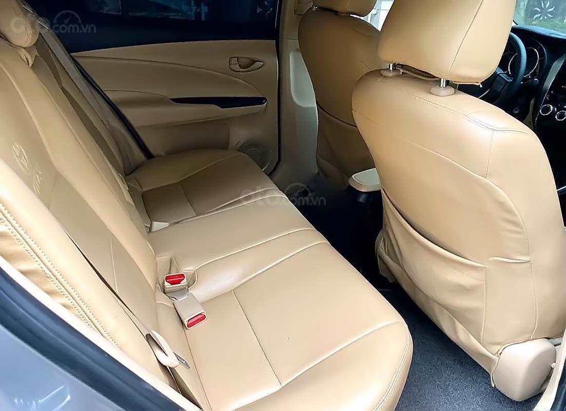 Cần bán lại xe Toyota Vios E CVT sản xuất 2018, màu bạc (3)