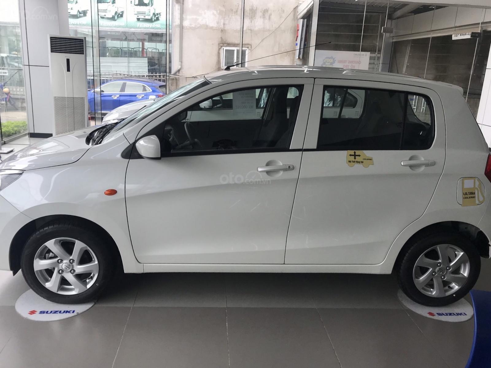 Bán Suzuki Celerio CVT năm sản xuất 2019, màu trắng, xe nhập (6)