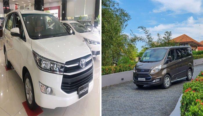 So sánh xe Toyota Innova và Ford Tourneo