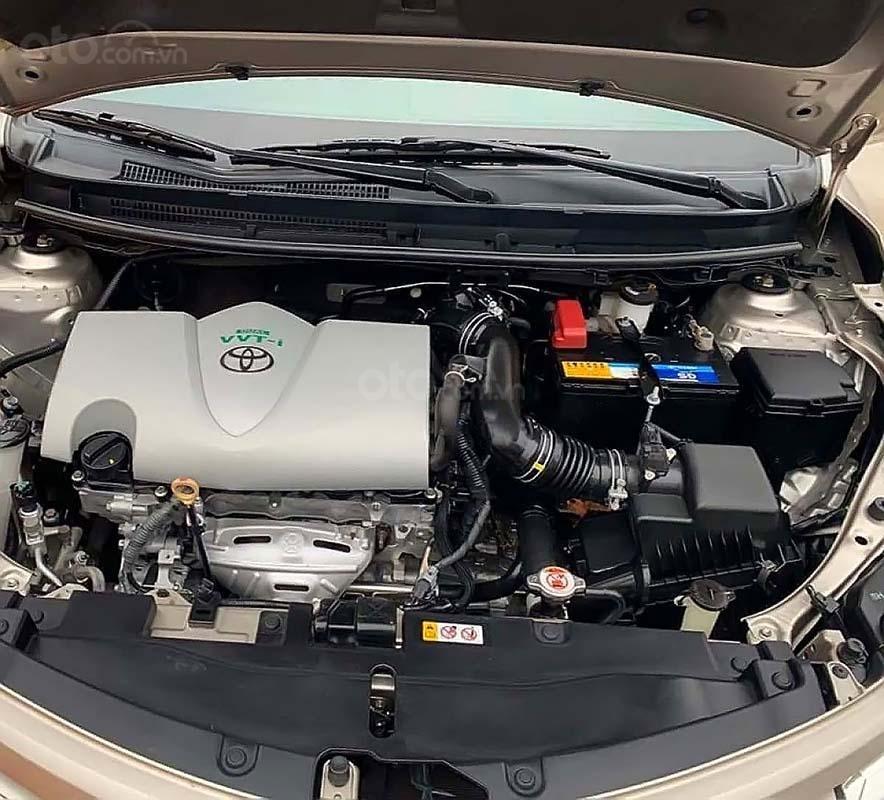 Bán xe cũ Toyota Vios 1.5E năm sản xuất 2017, số sàn (2)