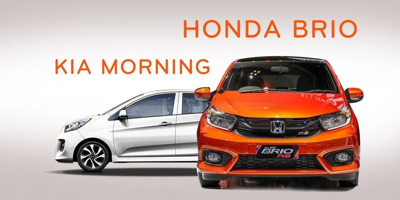 So sánh xe Kia Morning và Honda Brio