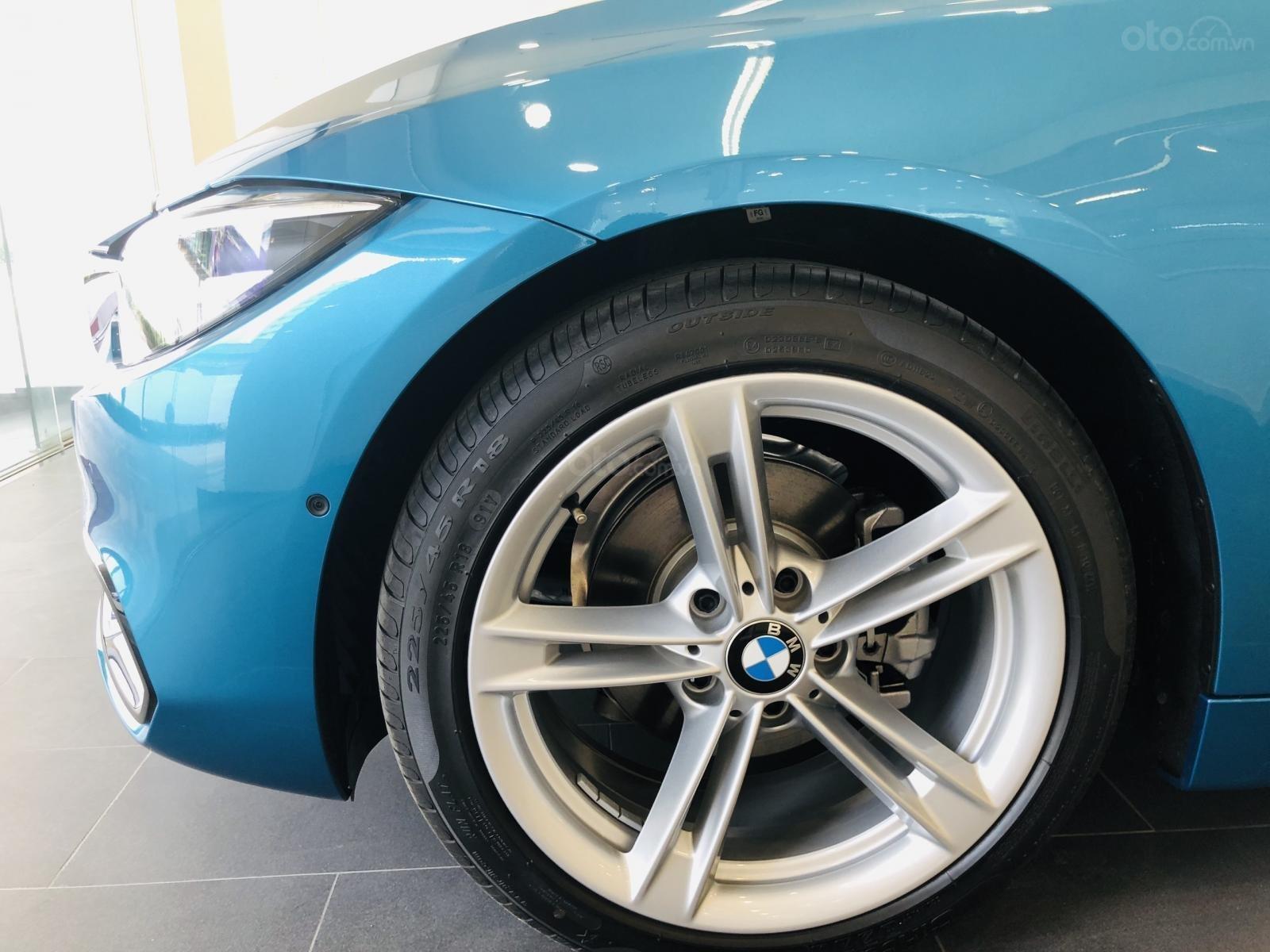 Thông số kỹ thuật xe BMW 420i 2020: Mâm xe 18 inch 1