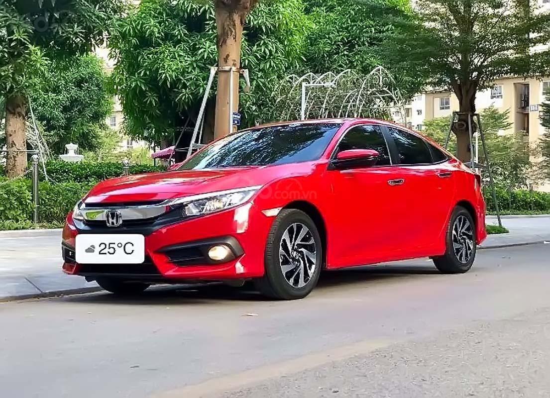 Bán Honda Civic 1.8 AT năm 2018, màu đỏ, xe nhập giá cạnh tranh (1)
