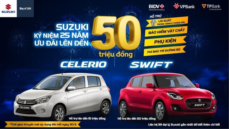 Suzuki Swift 2019 tăng khuyến mại cuối tháng 11 tại Việt Nam a2