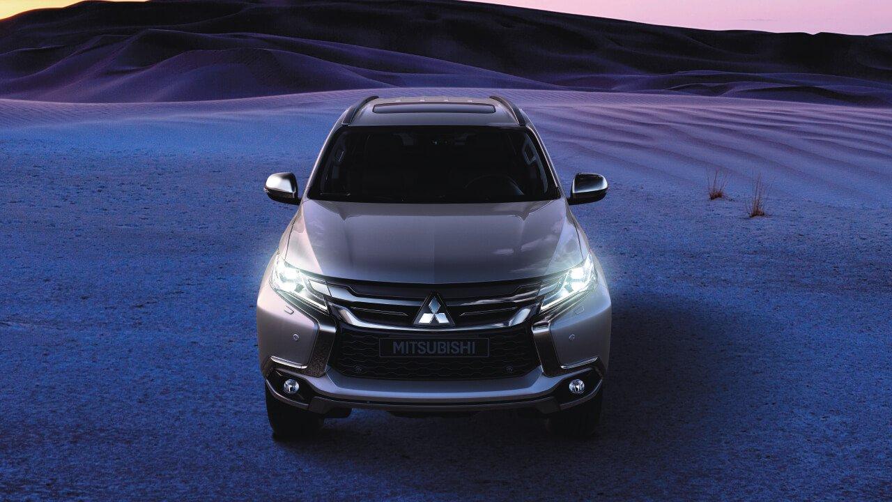 Mitsubishi Pajero Sport 2019 được phát triển theo ngôn ngữ thiết kế Dynamic Shiel